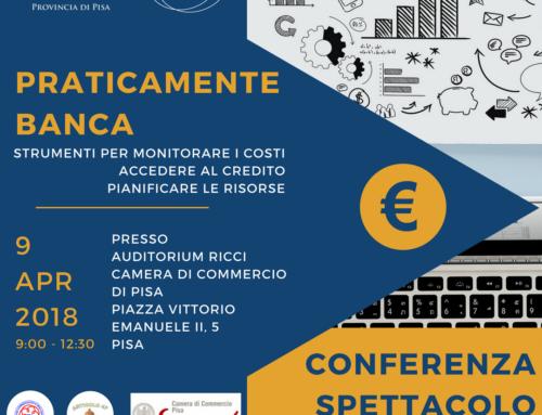 """Conferenza Spettacolo  """"Praticamente Banca"""""""