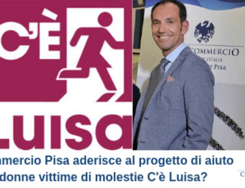 Confcommercio Pisa aderisce al progetto di aiuto alle donne vittime di molestie C'è Luisa?