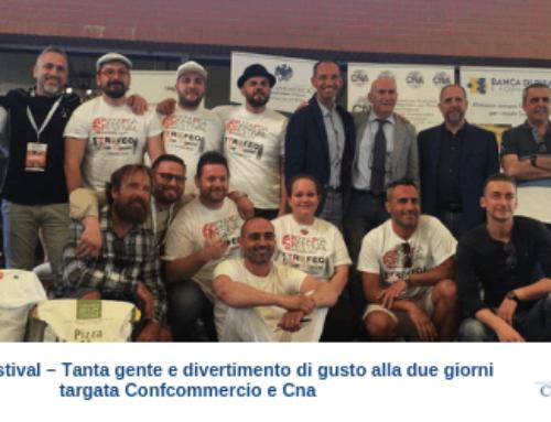 Pizza Pisa Festival – Tanta gente e divertimento di gusto alla due giorni targata Confcommercio e Cna