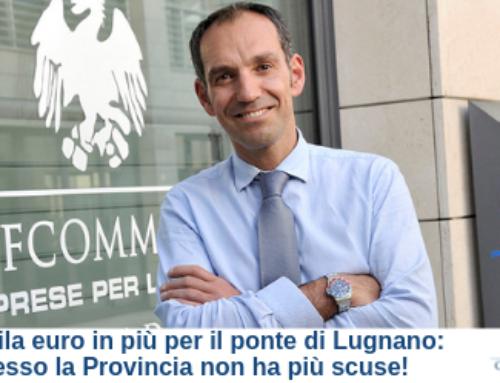 100 mila euro in più per il ponte di Lugnano: adesso la Provincia non ha più scuse!