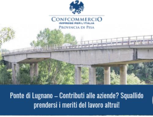 Ponte di Lugnano – Contributi alle aziende? Squallido prendersi i meriti del lavoro altrui!
