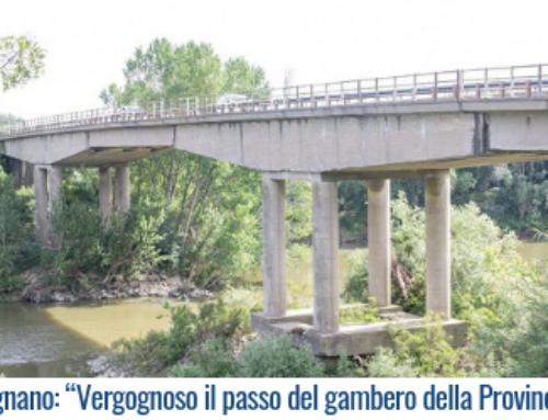 """Ponte Lugnano: """"Vergognoso il passo del gambero della Provincia di Pisa"""