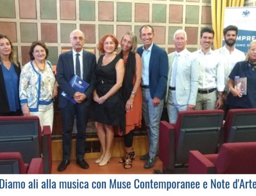 Diamo ali alla musica con  Muse Contemporanee e Note d'Arte