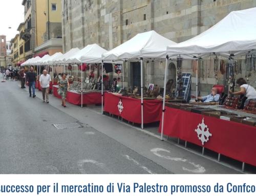 Grande successo per il mercatino di Via Palestro promosso da Confcommercio