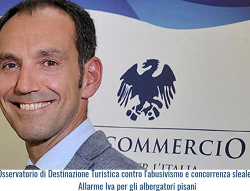 Confcommercio Pisa – Osservatorio di Destinazione Turistica contro l'abusivismo e concorrenza sleale. Allarme Iva per gli albergatori pisani