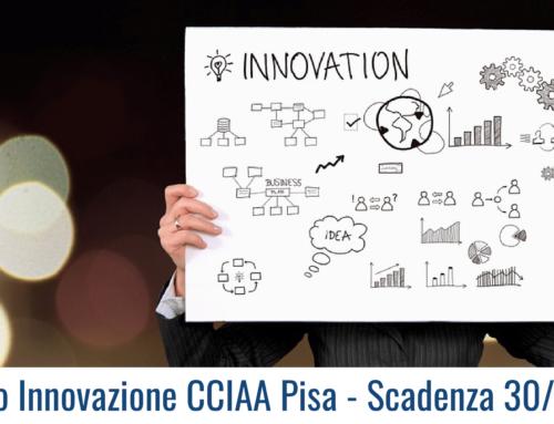 Premio Innovazione CCIAA Pisa – Scadenza 30/09/19