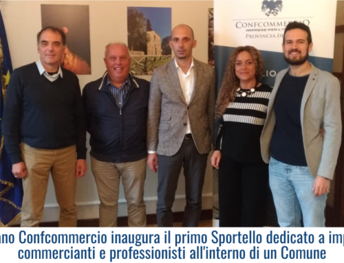 A Vicopisano Confcommercio inaugura il primo Sportello dedicato a imprenditori, commercianti e professionisti all'interno di un Comune