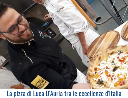 La pizza di Luca D'Auria  tra le eccellenze d'Italia