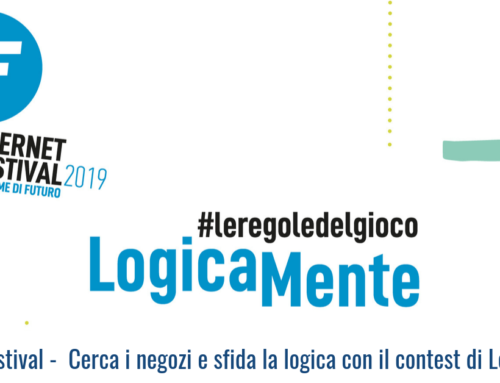 Internet Festival –  Cerca i negozi e sfida la logica con il contest di Logicamente