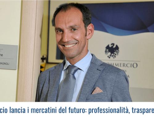 Confcommercio lancia i mercatini del futuro: professionalità, trasparenza e qualità