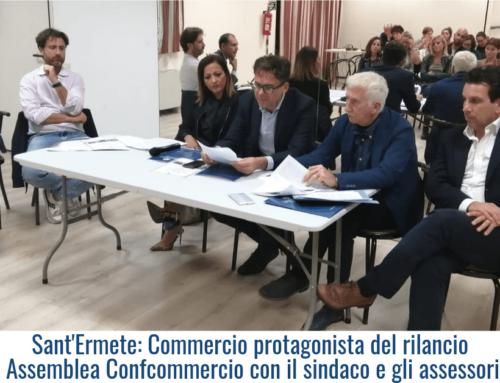 Sant'Ermete: Commercio protagonista del rilancio Assemblea Confcommercio con il sindaco e gli assessori