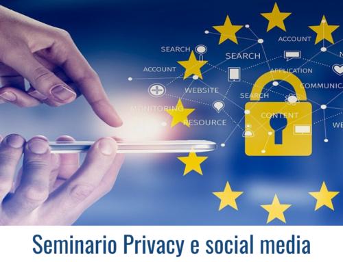 Seminario Privacy e Social Media