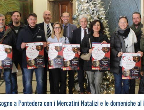 Un Natale da sogno a Pontedera con i Mercatini Natalizi e le domeniche al Museo Piaggio