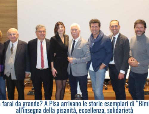 """Che cosa farai da grande? A Pisa arrivano  le storie esemplari di """"Bimbi Ganzi"""" all'insegna della pisanità, eccellenza, solidarietà"""