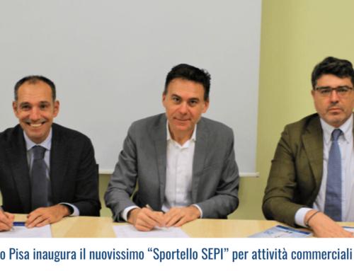"""Confcommercio Pisa inaugura il nuovissimo """"Sportello SEPI"""" per attività commerciali e imprenditori"""