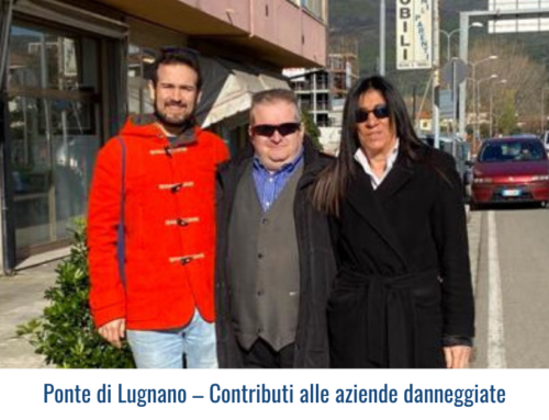 Ponte di Lugnano – Contributi alle aziende danneggiate