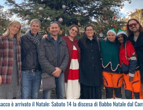 A Ponsacco è arrivato il Natale: Sabato 14 la discesa di Babbo Natale dal Campanile