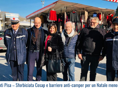 Ambulanti Pisa – Sforbiciata Cosap e barriere anti-camper per un Natale meno sofferto