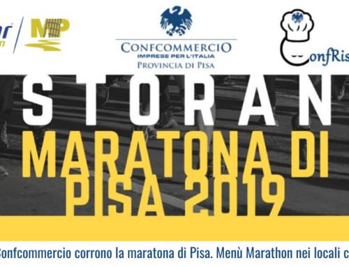 I ristoranti Confcommercio corrono la maratona di Pisa. Menù Marathon nei locali convenzionati