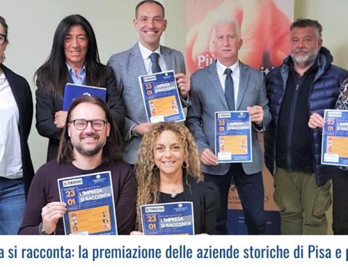 L'impresa si racconta: la premiazione delle aziende storiche di Pisa e provincia