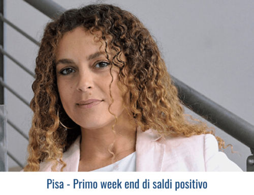 Pisa – Primo week end di saldi positivo