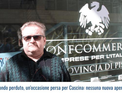 Contributi a fondo perduto, un'occasione persa per Cascina: nessuna nuova apertura in centro