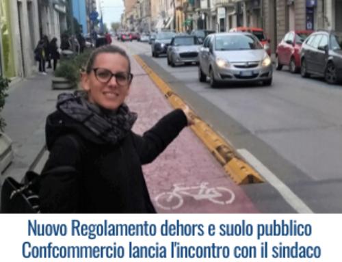 Nuovo Regolamento dehors e suolo pubblico – Confcommercio lancia l'incontro con il sindaco