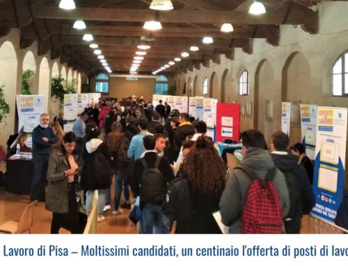 Borsa Mercato Lavoro di Pisa – Moltissimi candidati, un centinaio l'offerta di posti di lavoro nel turismo