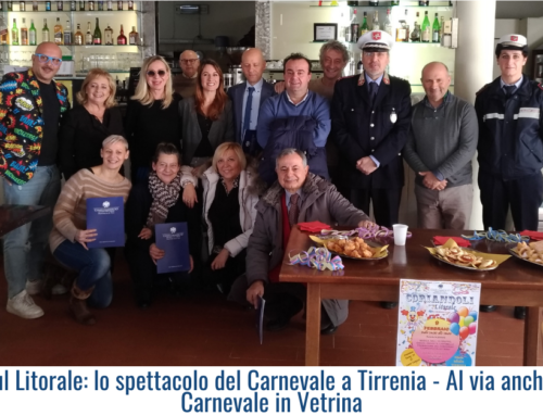 Coriandoli sul Litorale: lo spettacolo del Carnevale a Tirrenia – Al via anche il concorso Carnevale in Vetrina