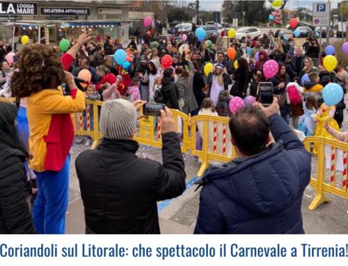 Coriandoli sul Litorale: che spettacolo il Carnevale a Tirrenia!
