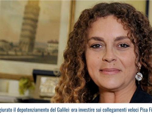 """""""Scongiurato il depotenziamento del Galilei: ora investire sui collegamenti veloci Pisa Firenze"""""""