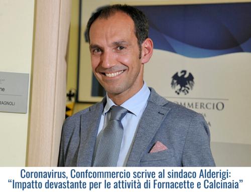 """Coronavirus, Confcommercio scrive al sindaco Alderigi: """"Impatto devastante per le attività di Fornacette e Calcinaia"""""""