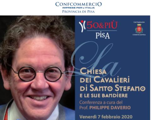 """""""La Chiesa dei Cavalieri e le sue bandiere – Conferenza di Philippe Daverio"""""""