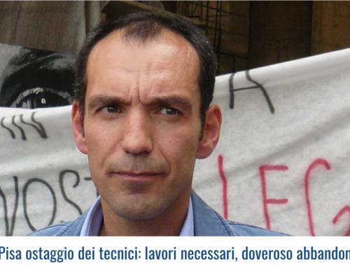 Provincia di Pisa ostaggio dei tecnici: lavori necessari, doveroso abbandonare il tavolo!