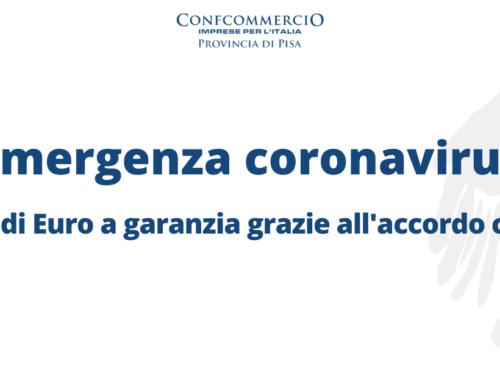 Iniziativa Confcommercio per la liquidità delle imprese 10 MLN di euro a garan-zia grazie all'accordo con BPM