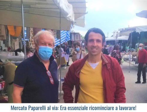 Mercato Paparelli al via: Era essenziale ricominciare a lavorare!