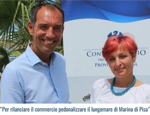"""""""Per rilanciare il commercio pedonalizzare il lungomare di Marina di Pisa"""""""