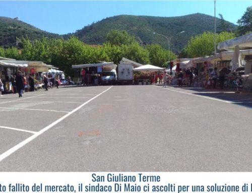 San Giuliano Terme – Esperimento fallito del mercato, il sindaco Di Maio ci ascolti per una soluzione di buonsenso!