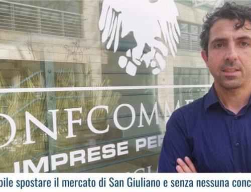 Inaccettabile spostare il mercato di San Giuliano e senza nessuna concertazione!