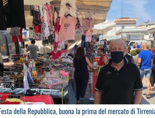 Festa della Repubblica, buona la prima del mercato di Tirrenia