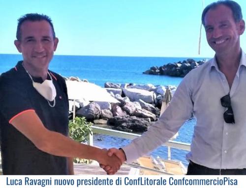 Luca Ravagni nuovo presidente di ConfLitorale ConfcommercioPisa