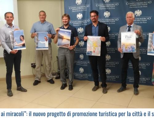 """""""Pisa incline ai miracoli"""": il nuovo progetto di promozione turistica per la città e il suo territorio!"""