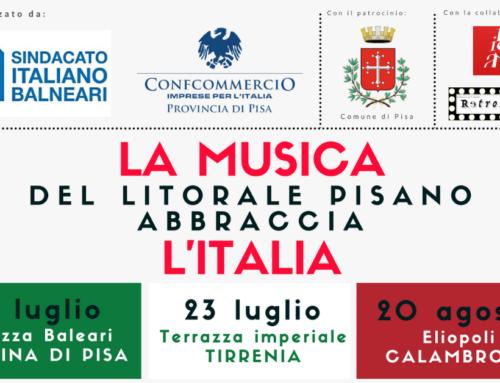 Silent Concert – La musica del litorale pisano abbraccia l'Italia
