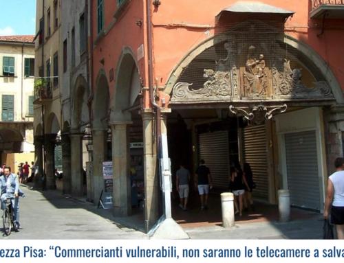 """Sicurezza Pisa: """"Commercianti vulnerabili, non saranno le telecamere a salvarci!"""""""