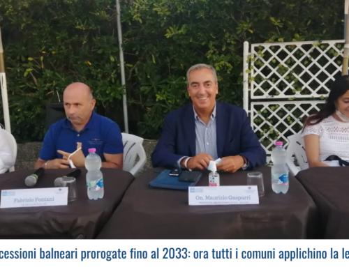 """""""Concessioni balneari prorogate fino al 2033: ora tutti i comuni applichino la legge"""""""