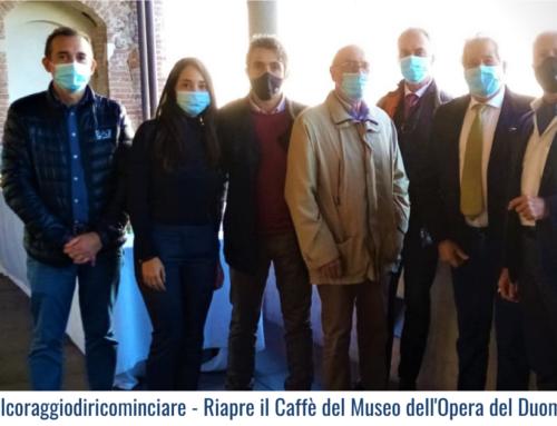 #ilcoraggiodiricominciare – Riapre il Caffè del Museo dell'Opera del Duomo