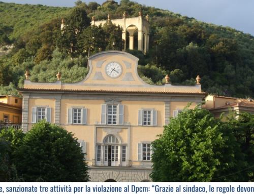 """San Giuliano Terme, sanzionate tre attività per la violazione al Dpcm: """"Grazie al sindaco, le regole devono valere per tutti!"""""""