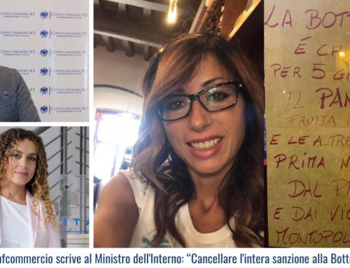 """Montopoli, Confcommercio scrive al Ministro dell'Interno: """"Cancellare l'intera sanzione alla Bottega del Gusto"""""""