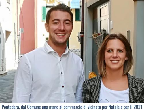 Pontedera, dal Comune una mano al commercio di vicinato per Natale e per il 2021