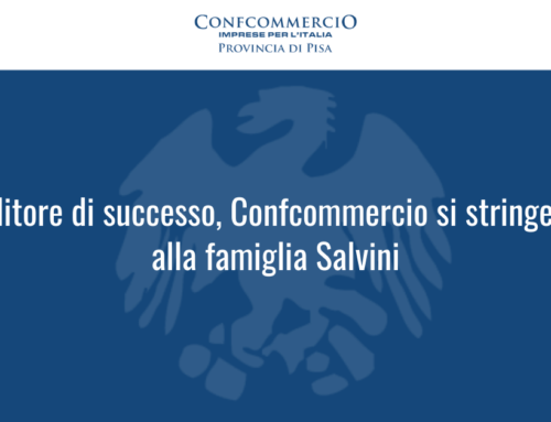 Imprenditore di successo, Confcommercio si stringe intorno alla famiglia Salvini